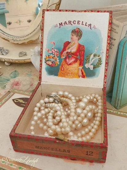 Marcella Vintage Cigar Box