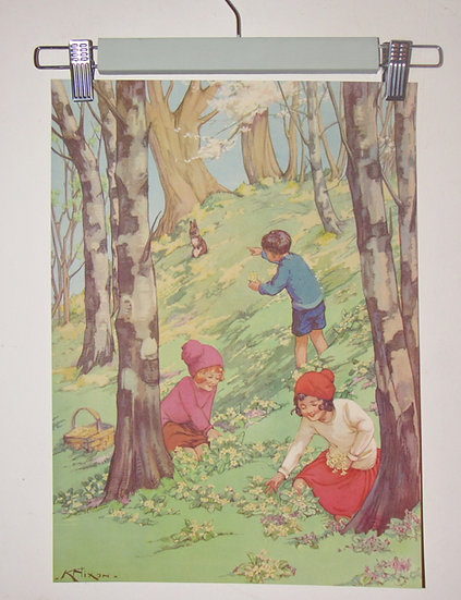 Set of Kay Nixon Children's Prints Enid Blyton