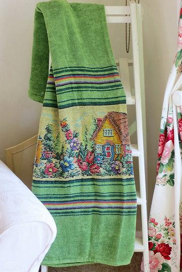 Chenille Cottage Garden Curtains