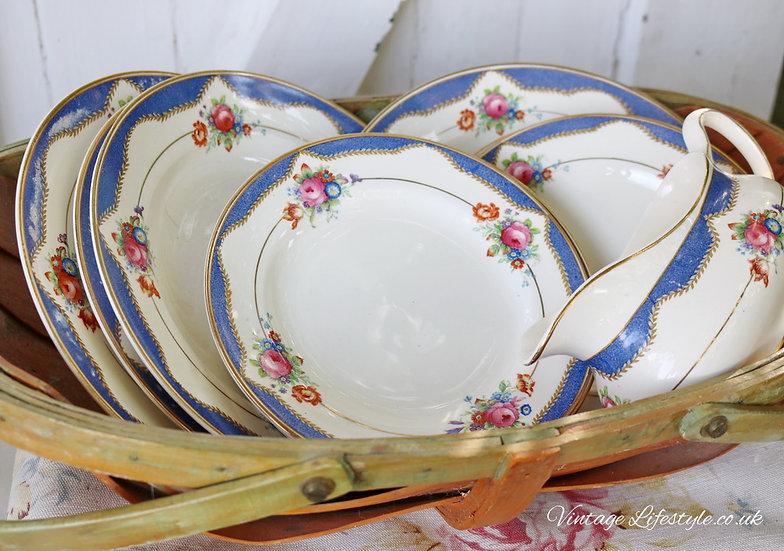 Bishop Vintage Dinner Plates