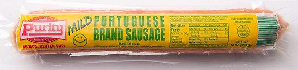 Purity's 10 oz. MILD Portuguese Brand Sausage