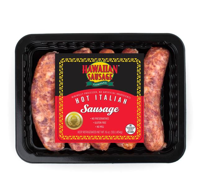 Hawaiian Sausage Hot Italian Sausage