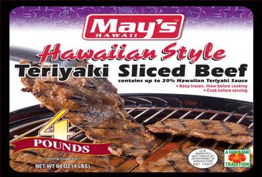 May's Hawaiian Style Teriyaki Sliced Beef