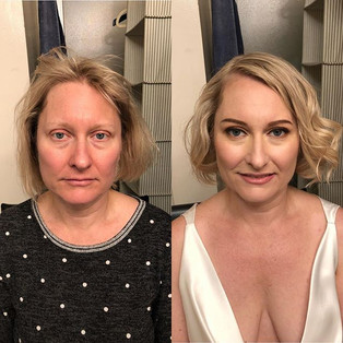 She is keep saying that the makeup makes