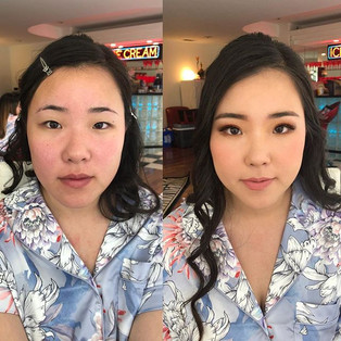 Asian glam by me !ask me about double ey