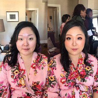 Asian Glam by me !!! #hairstylist #hairs