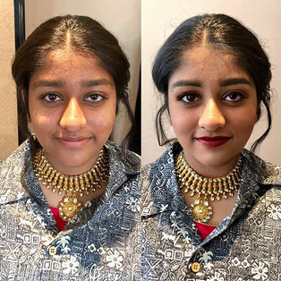 Makeup for the Indian lady! #hairstylist