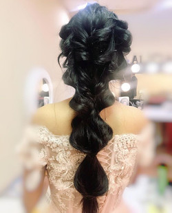 Repost long hairstyle by me _) #hairstyl