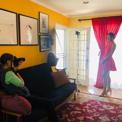 Behind the scenes! _jackieloucks _lisabe