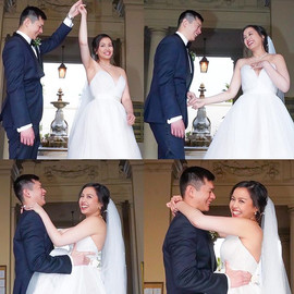 They are such lovely couple ! wedding ph