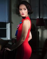 Actress lin , Photographer Lisa Bevis  8