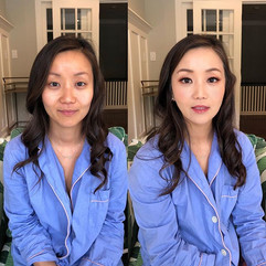 Before VS after makeup by me !! 😍_#hair