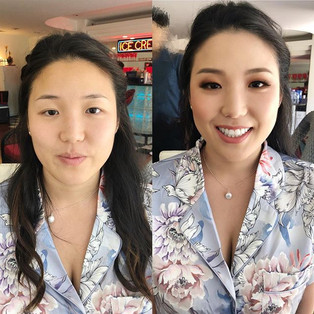 Asian smoky glam by me ! #hairstylist #h