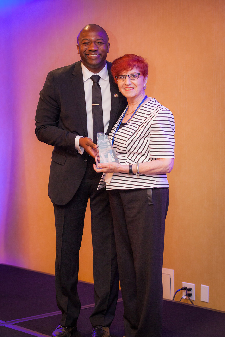Foundation Board Chair Receives SCMA President's Award