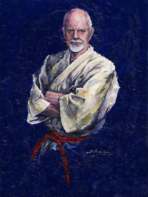 Hanshi Patrick McCarthy Portrait