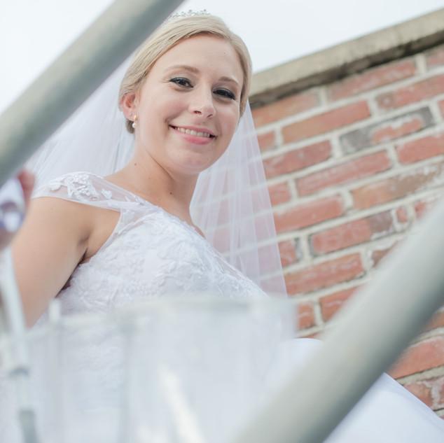 fine art new york wedding photography of a bride