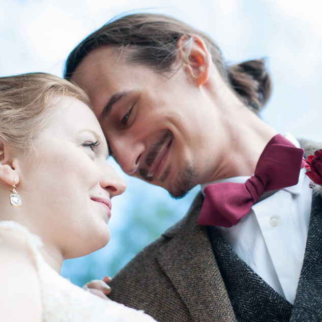 fine art wedding photography of a bride and groom