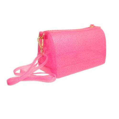 Glitter Jelly Handbag