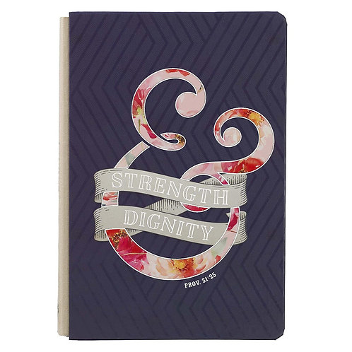 Strength and Dignity hard cover journal