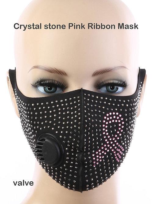 Pink Ribbon Mask (Adult)