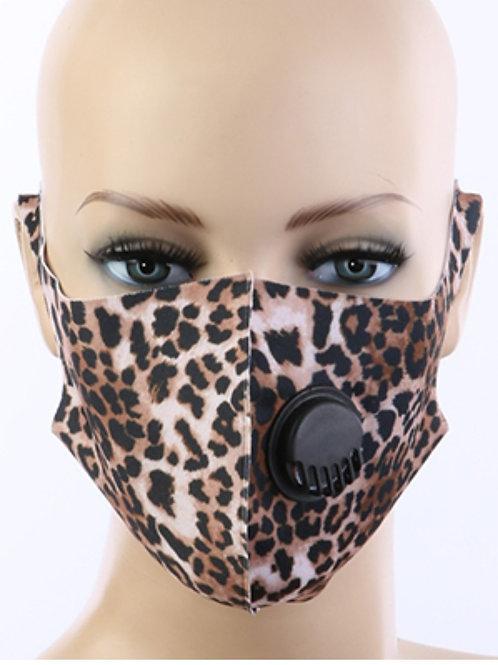 Animal print respirator Face Mask