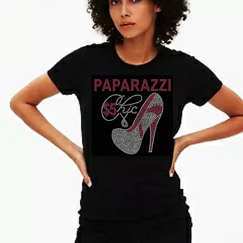 Paparazzi $5 Chic Bling Tee or Tote Bag