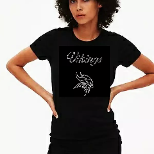 Vikings Bling Tee or Tote Bag