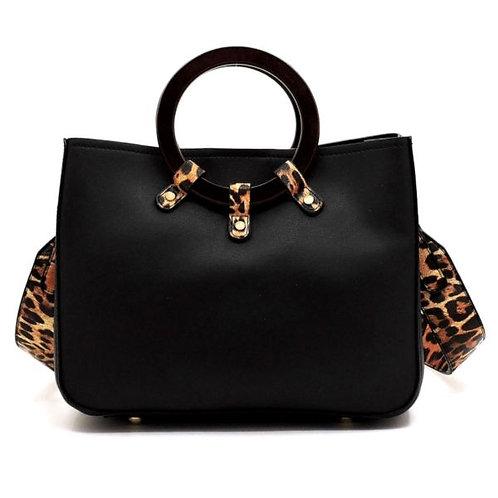 Leopard Print Handbag