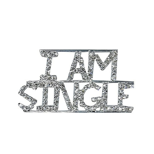 I Am Single Pin