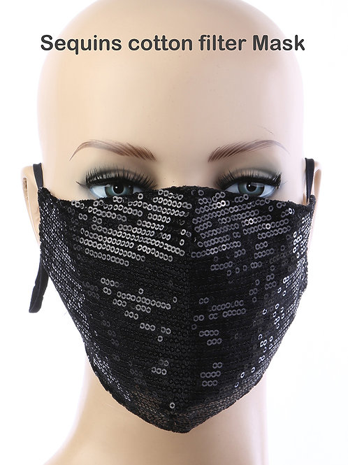 Sequin Mask (Adult)
