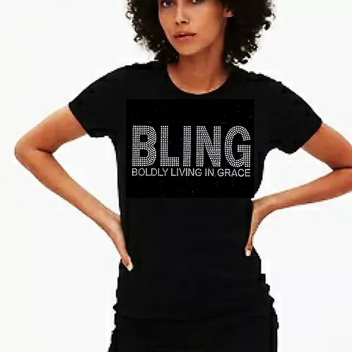 BLING Bling Tee or Tote Bag