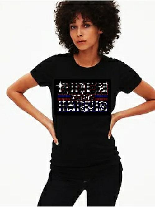 Biden Harris  2020 Bling tee or Tote bag