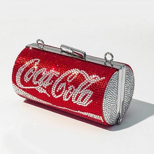 Coke Bling Clutch Purse