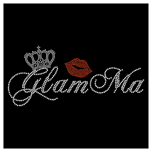 Glamma Bling tee or Tote bag