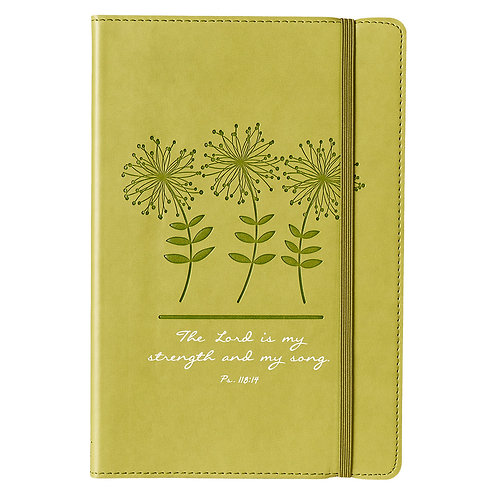 The Lord is my... Flex-bound cover journal