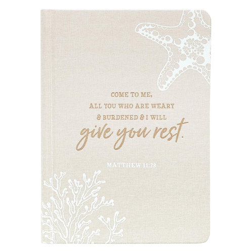 Give you rest hard cover journal