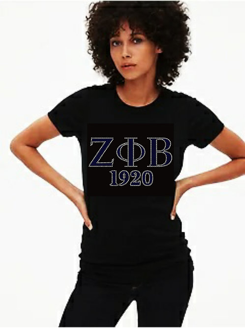 ZPB 1920 Bling Tee or Tote Bag