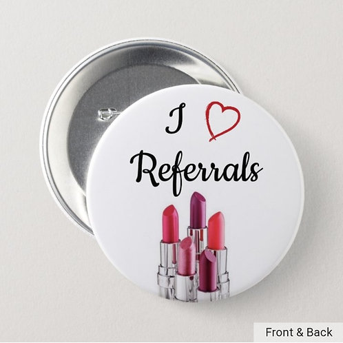 I ❤️ Referrals button