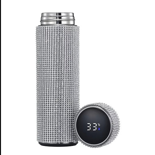 Bling digital temperature 16oz  thermos