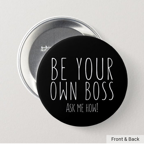 Be Your Own Boss button