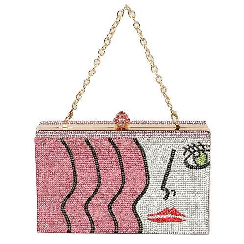 Bling Fashion Girl Clutch  Gold clutch purse