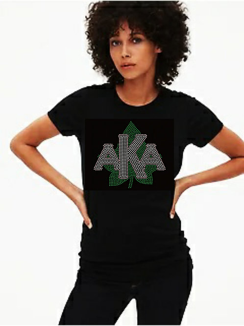AKA Ivy Bling Tee or Tote Bag