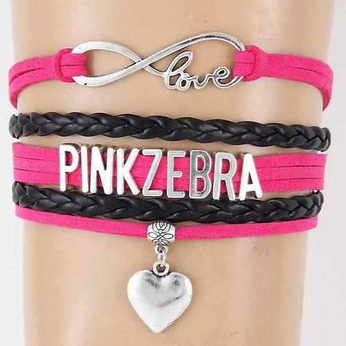 Pink Zebra Consultant Bracelet