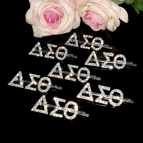 Delta Sorority: Bling Hair Pin