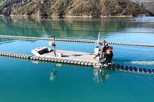 Helix Flipper with vessel mount