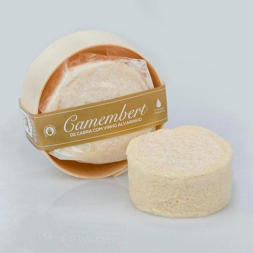 Camembert de cabra em Vinho Alvarinho