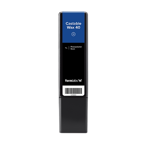 Castable Wax 40 Resin 1L Cartridge   (Form 2/3/3B)(V1)