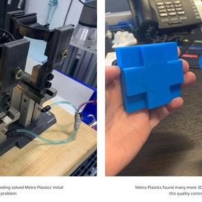 Metro Plastics: Injection mold company looks to 3D printing to solve operational bottlenecks