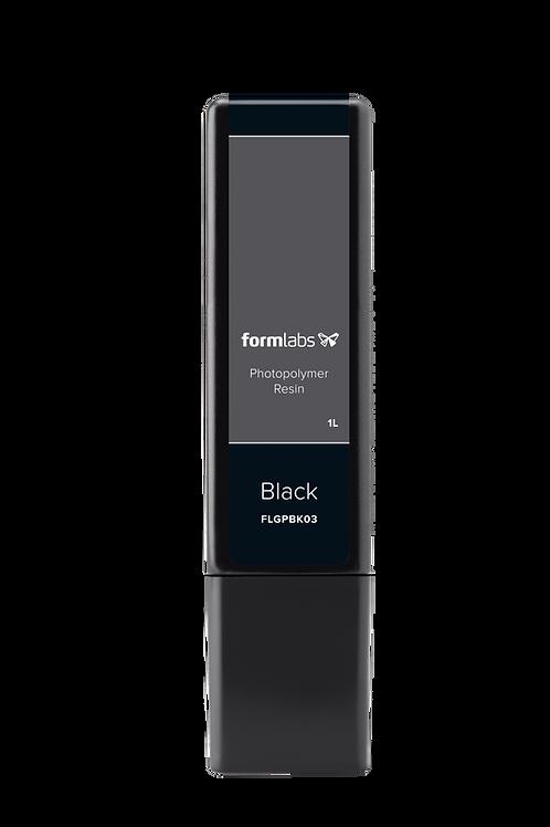 Black Resin 1L Cartridge (Form 2/3/3B)(V4)