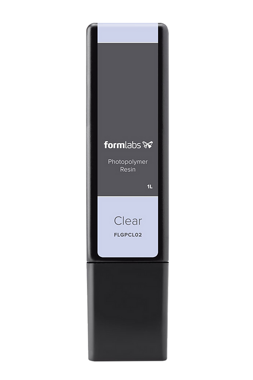 Clear Resin 1L Cartridge  (Form 2/3/3B)(V4)